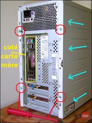 Ajouter un disque dur chez mat - Interieur d un ordinateur ...