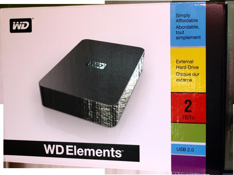 test du wd elements 2to chez mat. Black Bedroom Furniture Sets. Home Design Ideas